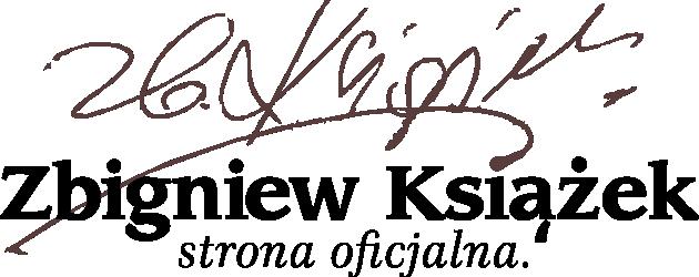 Zbigniew Książek - oficjalna strona